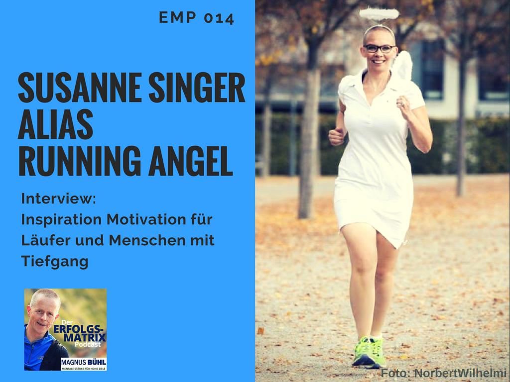 Susanne Singer alias Running Angel im Interview