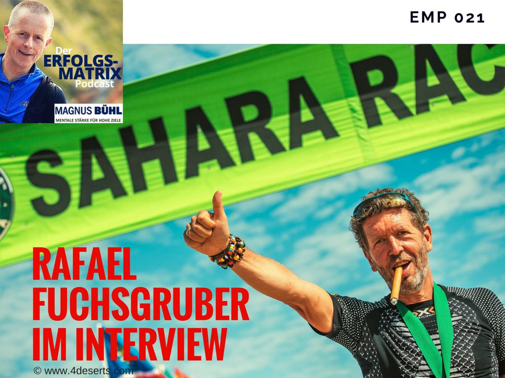 Rafael Fuchsgruber im Interview mit Magnus Bühl
