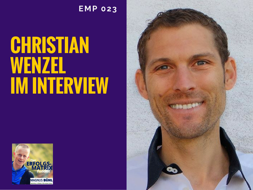 Christian Wenzel im Interview mit Magnus Bühl